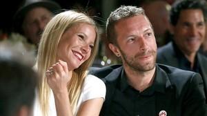 Una imagen de archivo de Chris Martin y Gwyneth Paltrow.