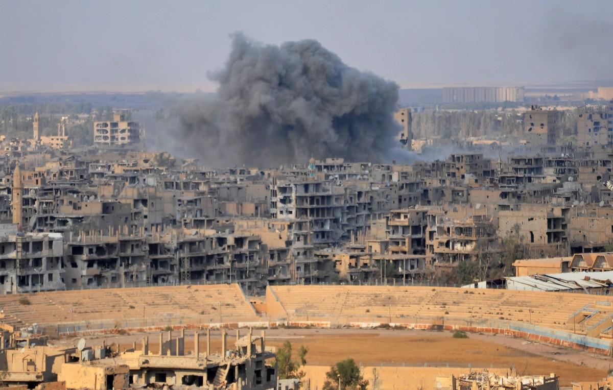 La ciudad de Deir Ezzor, tras la operación militar de las fuerzas sirias contra el Estado Islámico (EI).