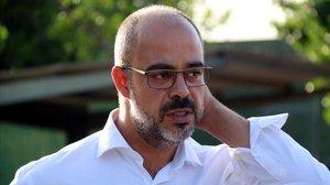 El 'conseller' de Interior de la Generalitat, Miquel Buch, el pasado junio.