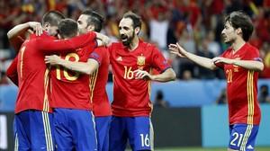 Croàcia - Espanya de l'Eurocopa 2016, en directe 'on line'