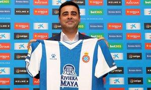 David Gallego, el nuevo técnico del Espanyol.