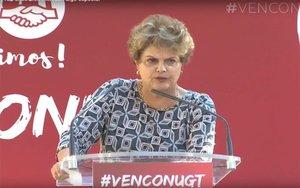 Dilma Rousseff, expresidenta de Brasil.