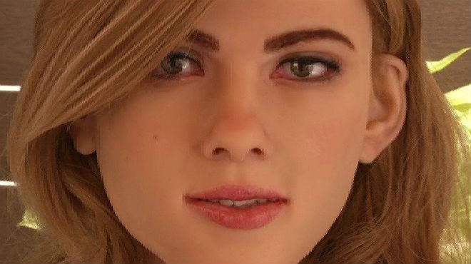 El androide, diseñado en Hong Kong,tiene un gran parecido con Scarlett Johansson