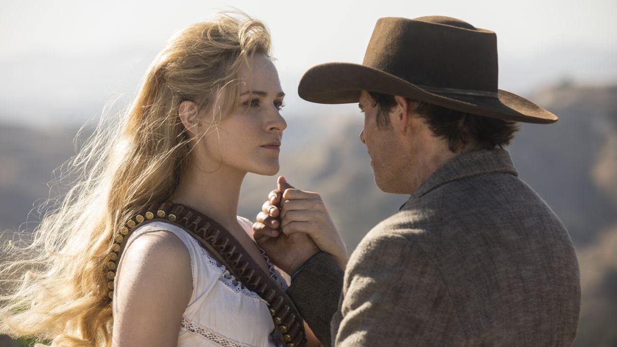 Dolores Abernathy, encarnada por Evan Rachel Wood, en la segunda temporada de Westworld.
