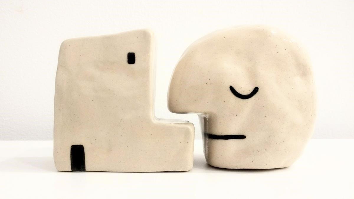 'Dual'. Obra conjunta de Diez y Moranta que evoca lo físico y lo espiritual en el hogar.