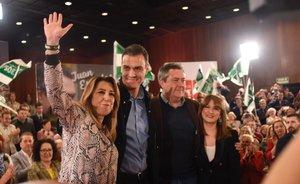 Díaz obre una nova era de recolzament a Sánchez