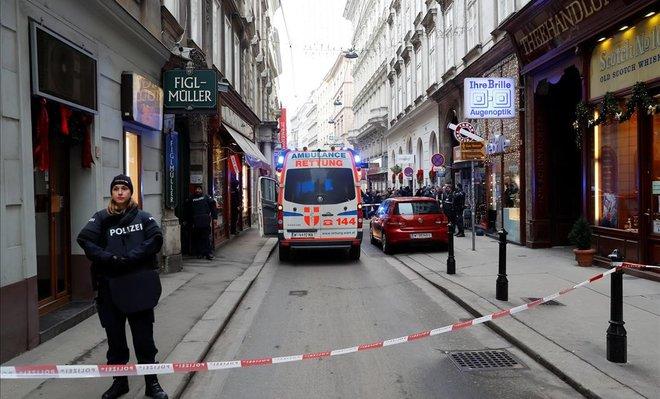 Almenys un mort i un ferit en un tiroteig al centre de Viena
