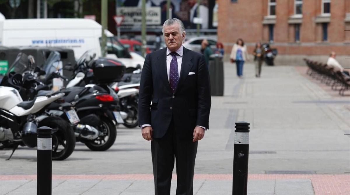 El extesorero del PP, Luis Bárcenas, a finales de mayo en Madrid.