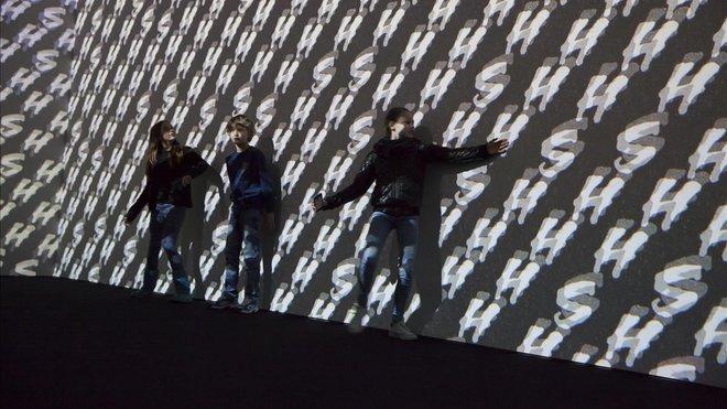 Un aspecto de la instalación Surround sounds, de Christian Marclay.