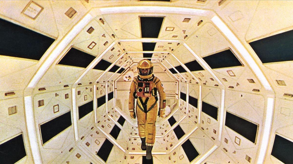 Un fotograma de 2001, una odisea del espacio, de Stanley Kubrick