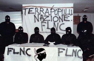 El grupo terrorista corso, en una imagen de archivo.