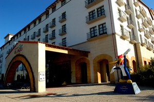 Imagen de archivo de uno de los hoteles de Port Aventura (Tarragona).