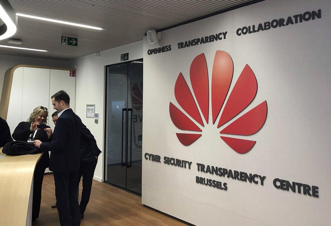 Nuevo centro de ciberseguridad de Huawei en Bélgica.