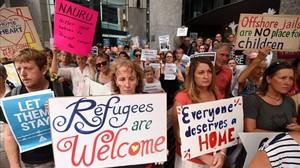 Austràlia envia els seus refugiats a una illa a 4.000 quilòmetres al mig del Pacífic