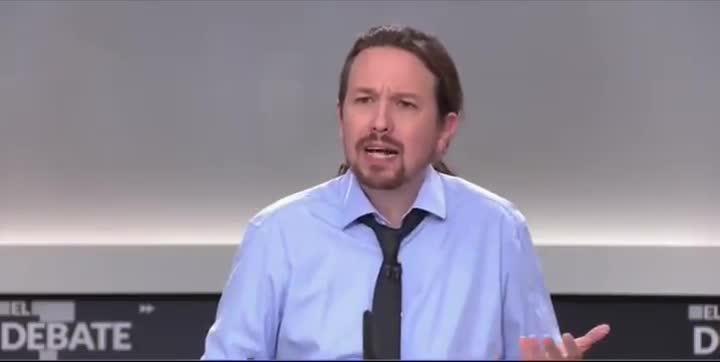 Iglesias replica a Abascal sobre el terrorismo.