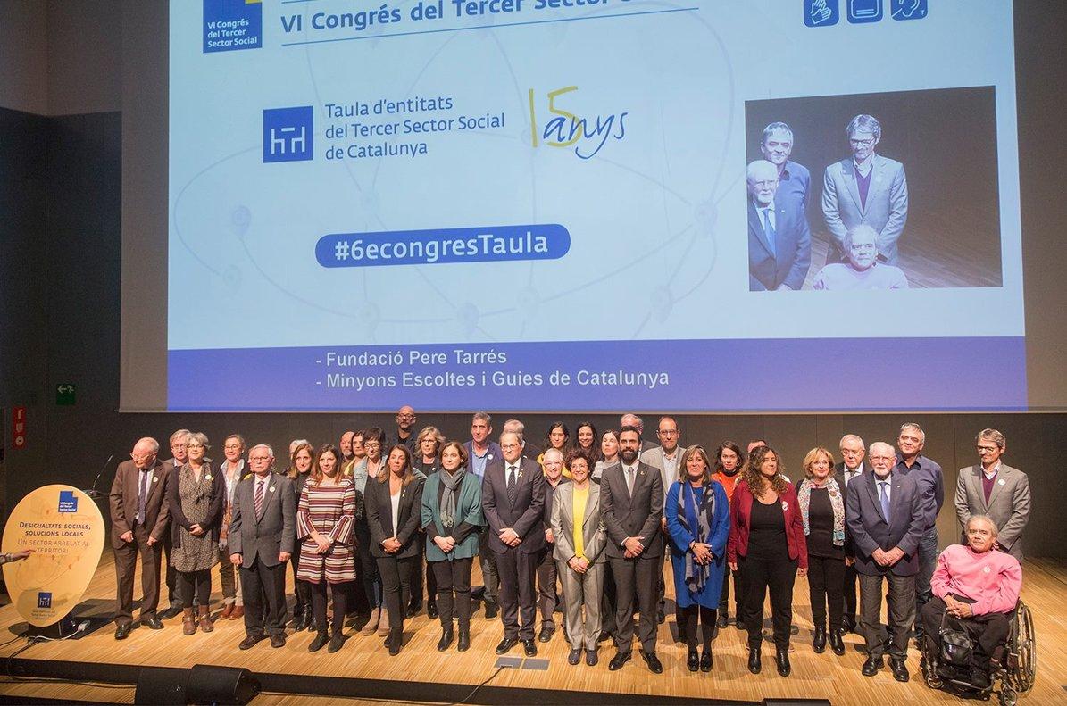Imagen de la inauguraci??n del VI Congreso del Tercer Sector Social de Catalunya