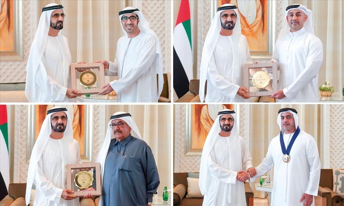 Los galardonados, todos hombres, de los premios de igualdad