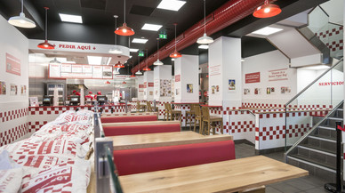 Las hamburguesas de Five Guys llegan a Barcelona