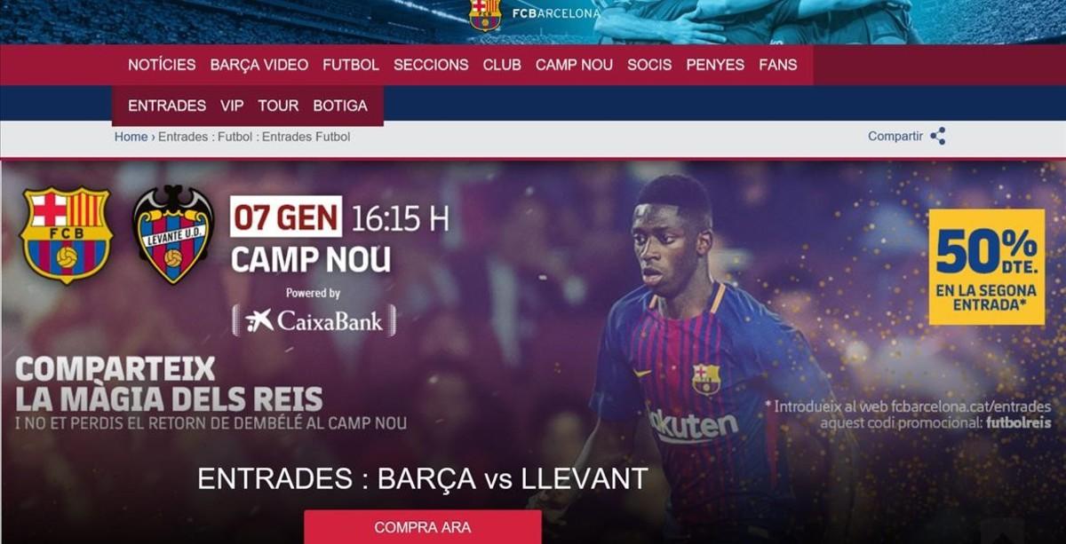 El Barça anuncia la reaparició de Dembélé el 7 de gener