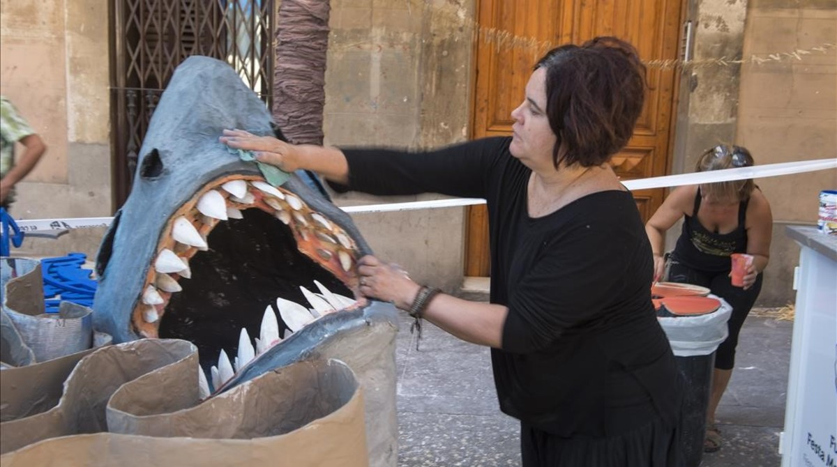En Verdi, que se pone californiana, no podía faltar un tiburón.