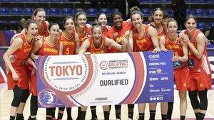 Espanya aconsegueix el bitllet olímpic per a Tòquio-2020 en bàsquet femení