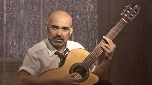 Joel Minguet, en 'Lorca', espectáculo del OffRomea.