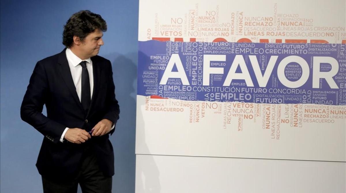Moragas deja el gabinete de Rajoy para ser embajador de España ante la ONU