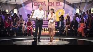 Juan y Medio y Ares Teixidó, presentadores del nuevo programa de Antena3 El amor está en el aire.