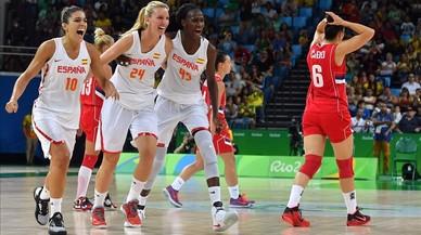 España hace historia con su primera final olímpica
