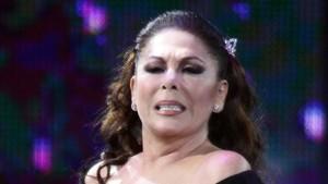 Isabel Pantoja, en un concierto el año pasado.