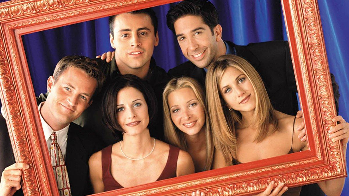 Los chicos de la serie 'Friends'.