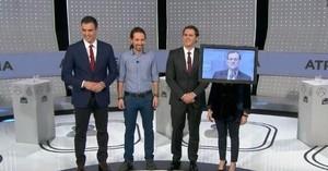 Los protagonistas del debate, desde el punto de vista de @gerardotc