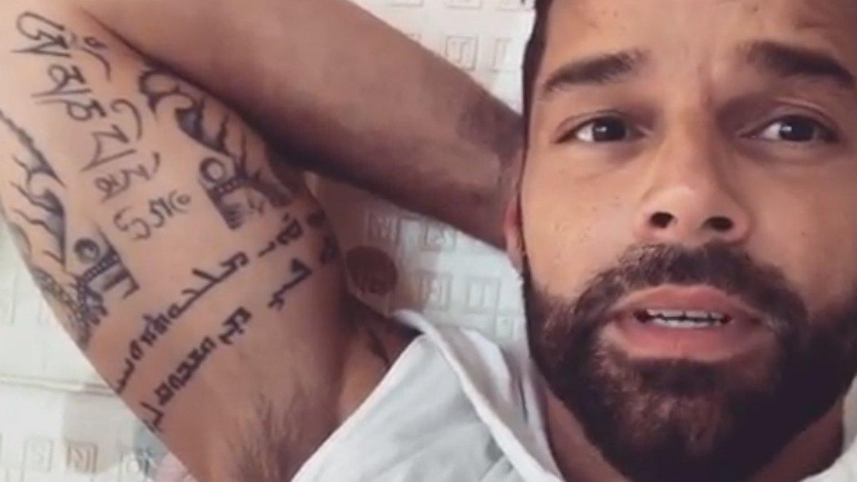 Ricky Martin mostra per primera vegada el rostre de la seva filla Lucía