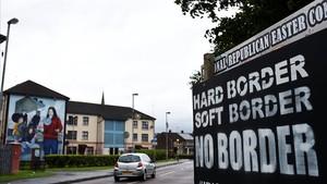 El Regne Unit vol una frontera sense controls a Irlanda del Nord