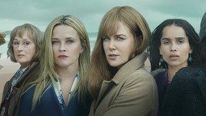 Meryl Streep, Reese Witherspoon, Nicole Kidman y Zoë Kravitz, en Big little lies.