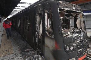Los dañados durante los disturbios se expandieron a casi todo el país.