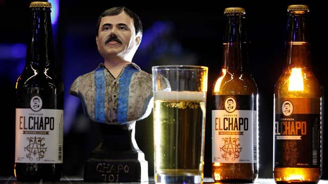México lanza una cerveza con la imagen de el 'Chapo' Guzmán.