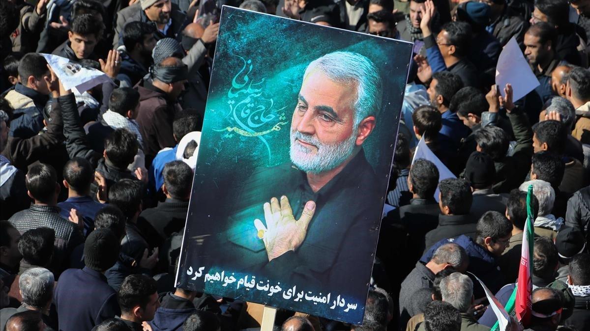 """Irán """"empieza la venganza"""" atacando con misiles dos bases de EEUU en Irak"""