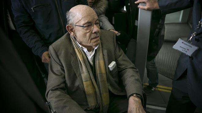 El juicio por el caso Palau, sienta en el banquillo a los ex responsables del Palau de la Música, Félix Millet y Jordi Montull.