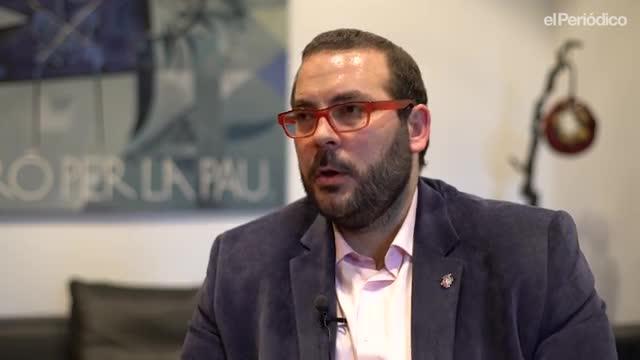El minuto indiscreto de David Bote, alcalde de Mataró.