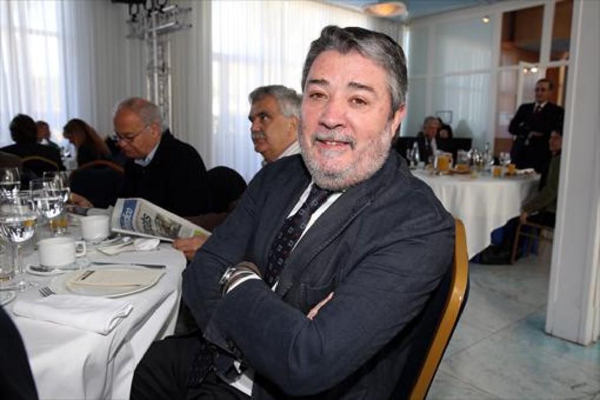 Miquel Àngel Fraile, en un acto público el año pasado en Barcelona.