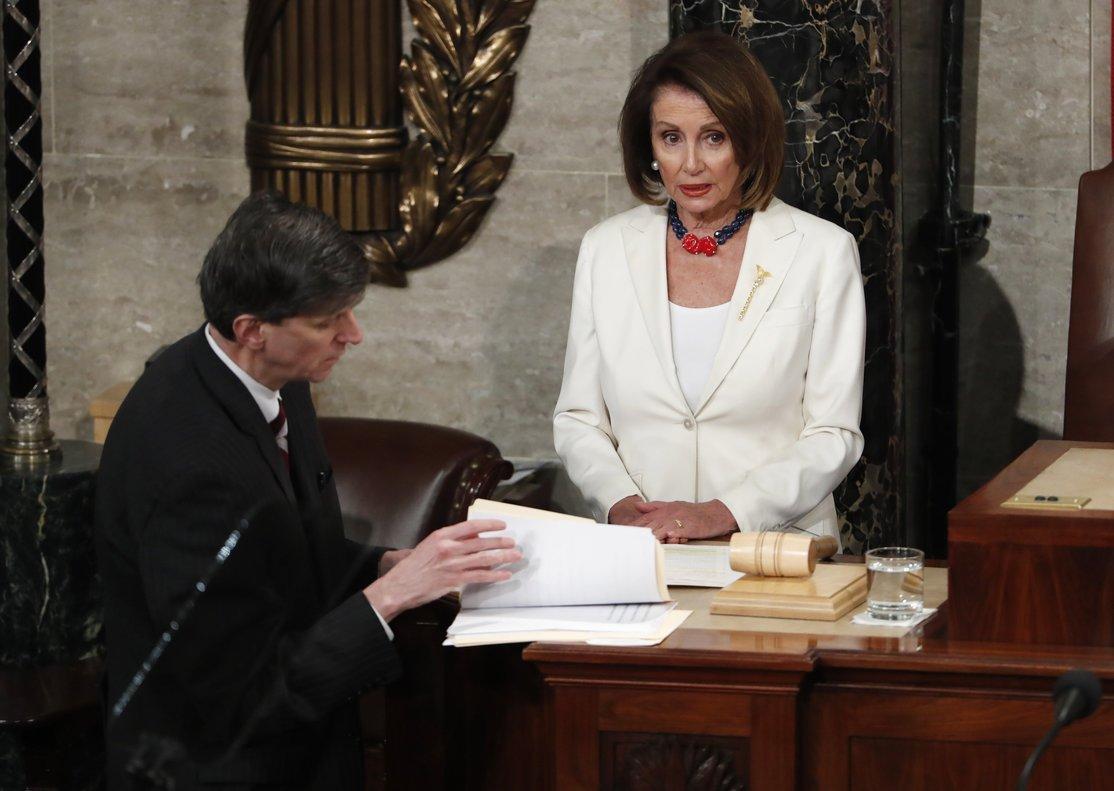 La presidenta de la Camara de Representantes de los Estados Unidos, la demócrataNancy Pelosi.EFEShawn Thew