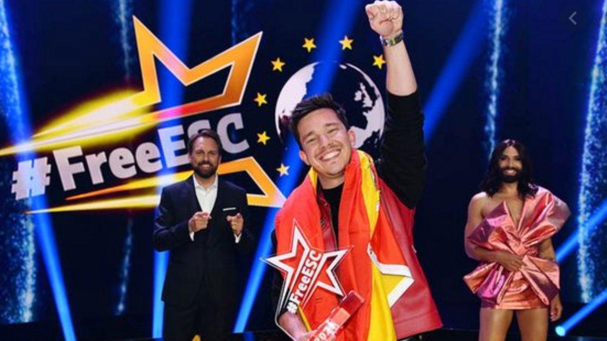España gana el Free European Song Contest, el Eurovisión alternativo