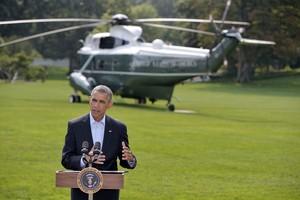 Obama explica los bombardeos selectivos realizados poe EEUU al norte de Irak.