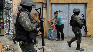 Misión imposible para los militares en Río de Janeiro