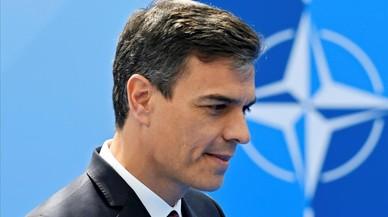 """Sánchez comprende a Trump pero insiste en que España es un socio """"fiable"""" de la OTAN"""