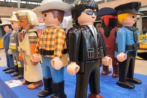 Sant Boi acull la tercera edició de la Fira de Col·leccionisme Playmobil