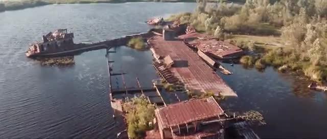 Postales de Pripyat, vídeo desde el aire dela ciudad fantasma que causó Chernobyl.