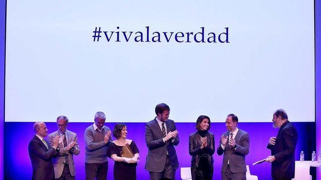 José Antonio Zarzalejos, Carles Francino, José Guirao, Cristina Tardáguila, Antonio Asensio Mosbah, Ana Pastor, Enric Hernández y Josep Maria Pou.