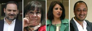 Las nuevas caras del PSOE de Pedro Sánchez